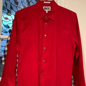 Extra slim Vibrant Red M dress shirt